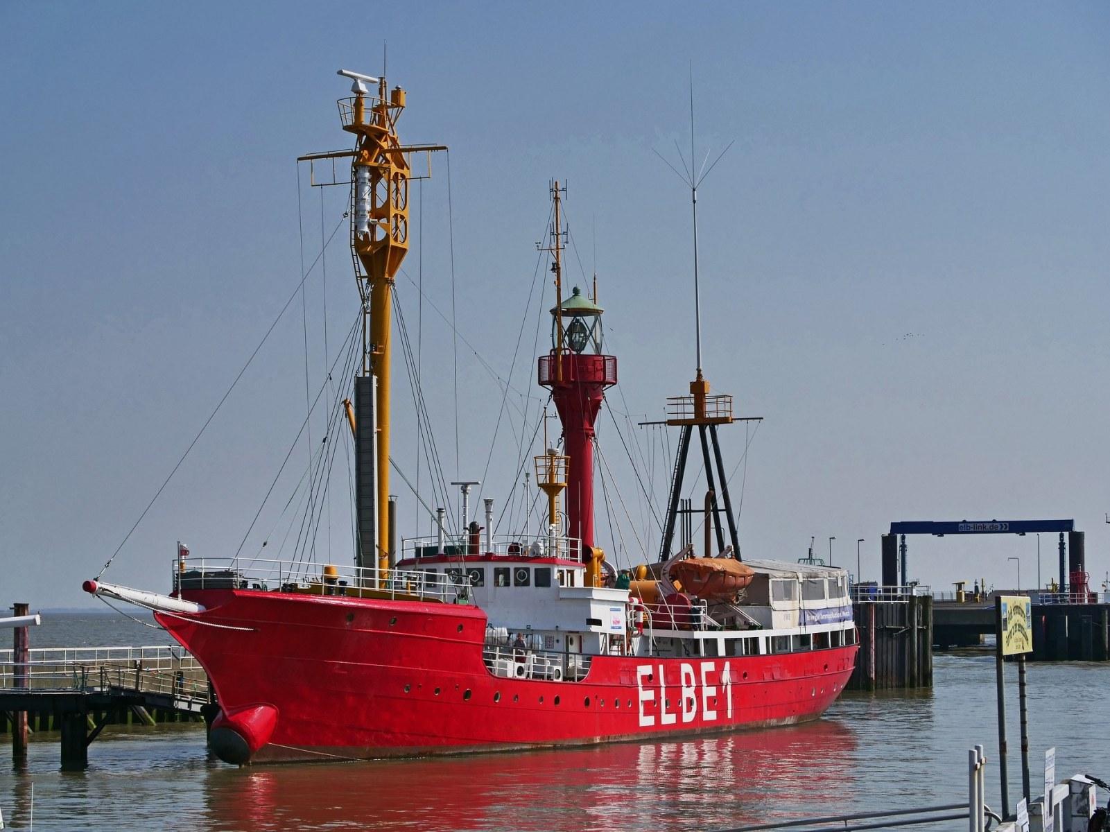 Feuerschiff Elbe 1 in Cuxhaven